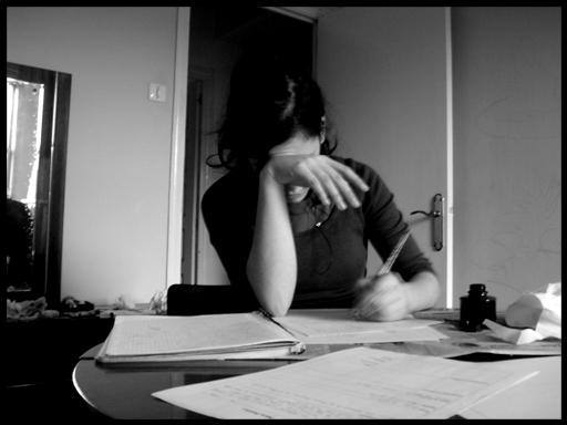 Patricia estudia - Christian García Bello (2005)