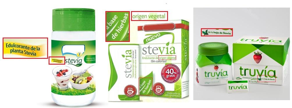 stevia comercial