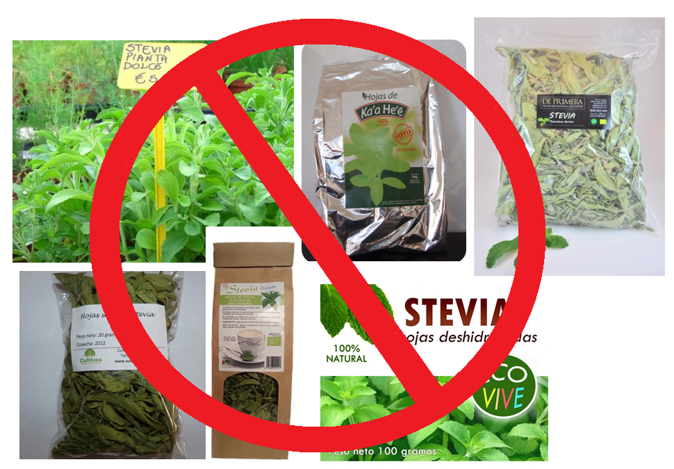 stevia prohibida venta