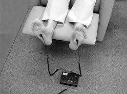Electrodos pies a toma de tierra