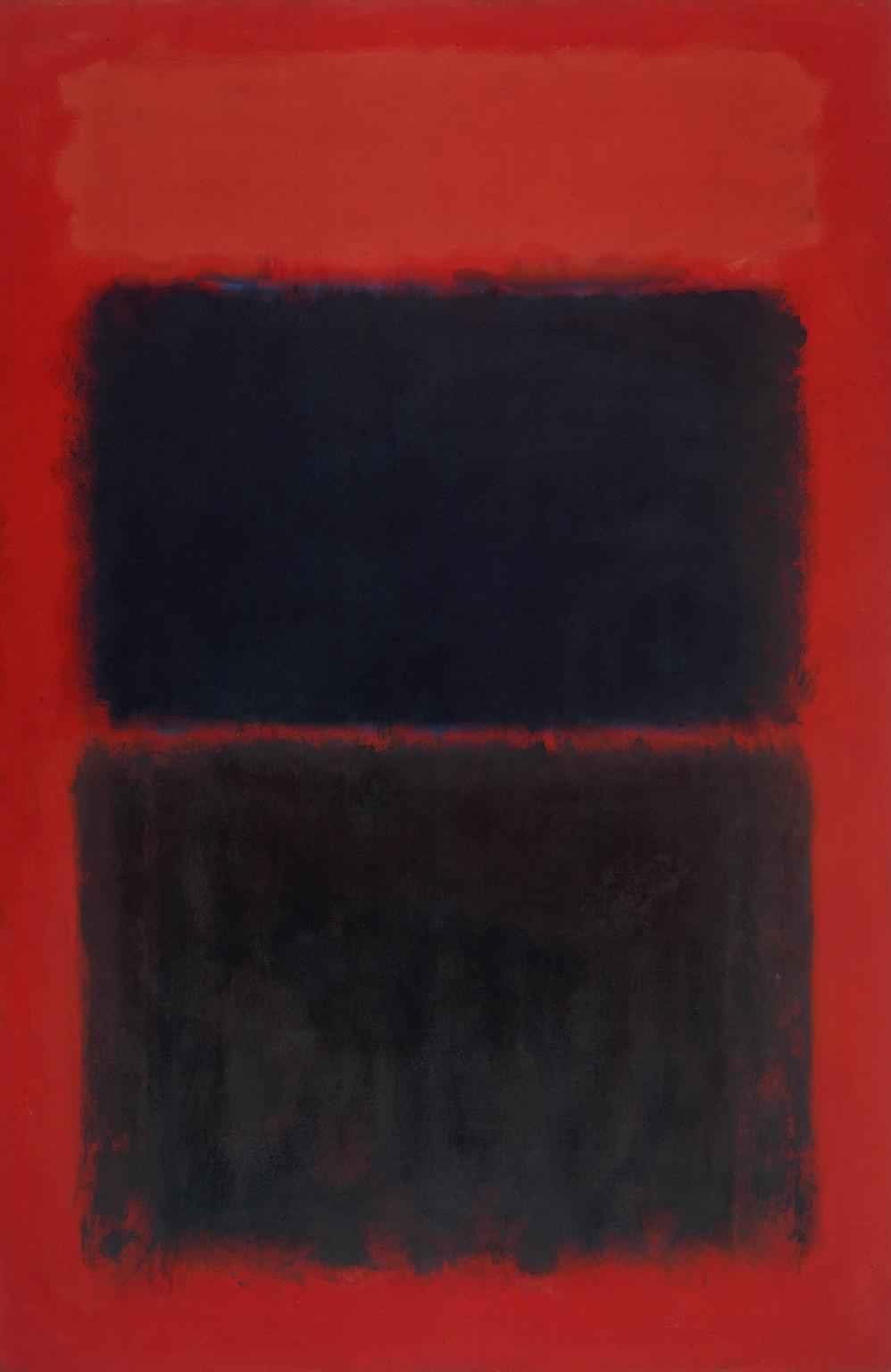 Light Red Over Black 1957 by Mark Rothko 1903-1970