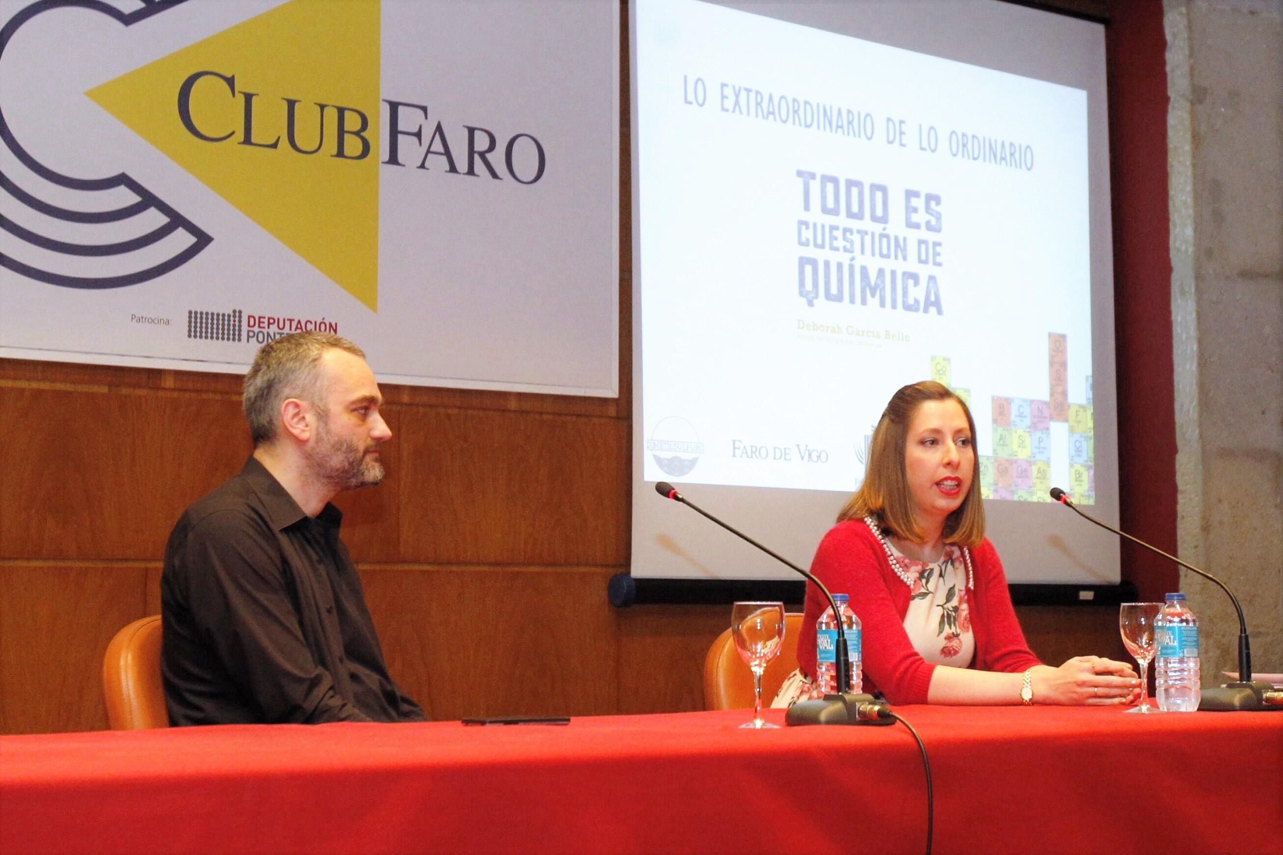 J. LORES. DEBORAH GARCIA BELLO EN EL CLUB FARO